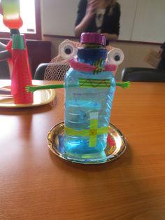 Alien van recycled plastic