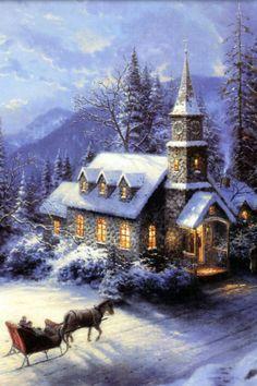 Snow, Christmas, lovely days!