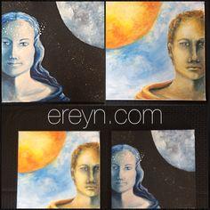"""Balance"" (The Lord and Lady) by EREYN artist Erin Reynolds"