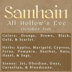 ☆ Samhain :→ All Hollow's Eve ☆