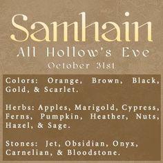 ☆ Samhain :→ All Hollow's Eve ☆