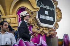 Co-Grand Marshal Ian Somerhalder of The Vampire Diaries rides a float in the 2014 Krewe Of Endymion Parade on March 1, 2014 in New Orleans, Louisiana