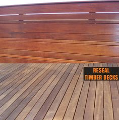 Reseal Timber Decks has emerged as one of the renowned providers of comprehensive deck restoration in Mornington Peninsula and Melbourne. With tailor-made deck maintenance, staining, cleaning and sealing solution, they have gained the maximum satisfaction of the clients. Get your decking maintained by them at reasonable charges. Address : 8 Natasha Close, St Helena, Victoria 3088  Phone no : 0425 850 668