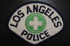 Los Angeles Police Patch - Traffic Division, Los Angeles County, California (Vintage 3rd Issue)
