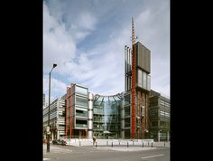 Channel 4 headquarters, London, 1996. © Janet Hall / RIBA Library Photographs Collection