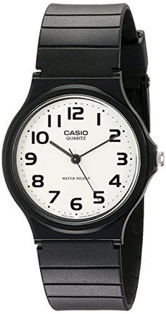 Casio Mens MQ247B2 Analog Watch with Black Resin Band *** Be sure to check out this awesome product. (Note:Amazon affiliate link)