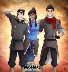 The Legend of Korra by =MexRated on deviantART