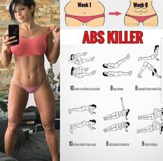 Abs workout for ladies