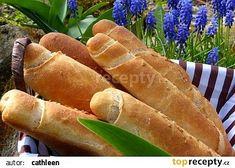 Pšenično-žitné rohlíky recept - TopRecepty.cz Hot Dog Buns, Hot Dogs, Lose Weight, Food And Drink, Bread, Cooking, Kitchen, Brot, Baking
