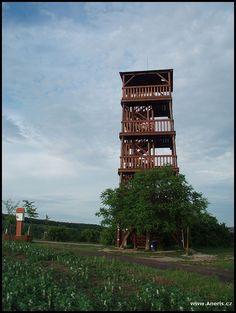 Kraví hora u Bořetic Lookout Tower, Laundry Hacks, Czech Republic, Towers, Iceland, Places, Travel, Architecture, Laundry Tips