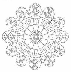 What do you know about crochet mandala pattern? It is a beautiful crochet pattern that can be adapted for creating a functional crochet item. Crochet Mandala is typical in which it has a circular shape and various colors of the… Continue Reading → Motif Mandala Crochet, Crochet Circles, Crochet Doily Patterns, Crochet Diagram, Crochet Round, Crochet Chart, Crochet Squares, Crochet Doilies, Crochet Flowers