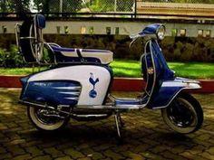 Tottenham Football, Lambretta Scooter, Tottenham Hotspur Fc, Bikers, Scooters, Old Photos, Soccer, English, Fan