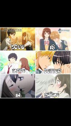 Love in anime!!
