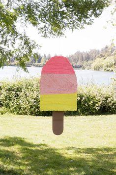 Popsicle Piñata DIY party decor