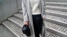 coat: http://www.sheinside.com/Grey-Long-Sleeve-Lapel-Pockets-Oversized-Coat-p-186051-cat-1735.html?url_from=mesmerize87  turtleneck: http://www.oasap.com/194-knitwear?fu%C2%ADid=107563  shoes: http://www.choies.com/product/black-textured-plimsolls_p25343?cid=2759jesspai  visit me to see more: http://mesmerize87.blogspot.com/2014/11/start-think-gray.html