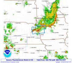SPC Severe Thunderstorm Watch 476 Status Reports - http://blog.clairepeetz.com/spc-severe-thunderstorm-watch-476-status-reports/