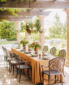 21 Reception Photos That Will Have You Dreaming of an Outdoor Wedding   Photo by: Clane Gessel Photography   TheKnot.com