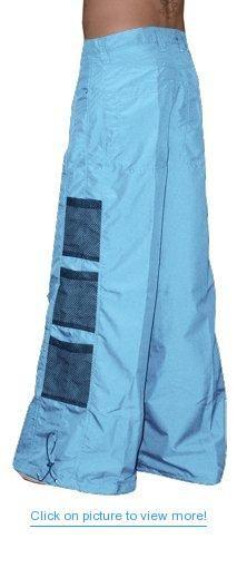 aa1957188f9 Ghast Wide Bottom Raver Pants (Light Blue)  Ghast  Wide  Bottom