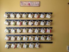 how to display starbucks mugs - Google Search
