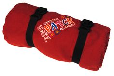 FPB-RED - Fun Patch Blanket - Red
