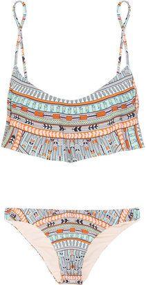 Mara Hoffman Rainbow printed bikini Mara Hoffman