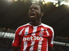 Mame Biram Diouf scores the winner for Stoke at Man City !!