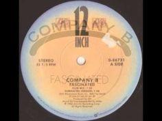 Company B - Fascinated (Club Mix) High Energy, Club, Music, Youtube, Musica, Musik, Muziek, Music Activities, Youtubers