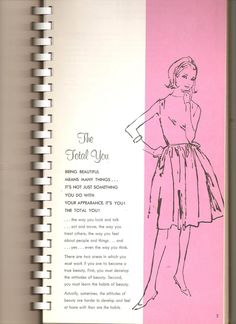 Wendy Ward Charm School Book…I had this Vintage Modern, Mode Vintage, Vintage Ladies, Retro Vintage, Ettiquette For A Lady, Lady Rules, Etiquette And Manners, Finishing School, Act Like A Lady