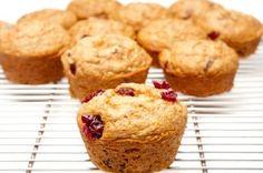 Muffins au son, citron et canneberges #recettesduqc #muffin