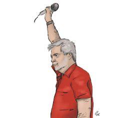 Marek Magiera caricature (photo: Lukasz Stanek) #caricature #art #volleyball