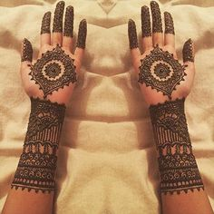 Bridal Mehendi Designs - The Swirl