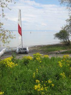 Start bei herrlichem Sonnenschein in Konstanz