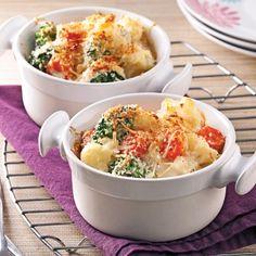 Gratin de légumes, sauce béchamel au tofu soyeux - Recettes - Cuisine et nutrition - Pratico Pratique