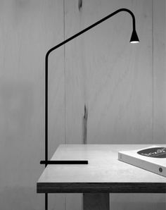Austere table light by Hans Verstuyft for Trizo 21