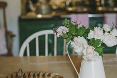 Kitchen with Aga Country House Wedding Venues, Aga, Romantic, Interiors, Table Decorations, Kitchen, Home Decor, Cooking, Decoration Home