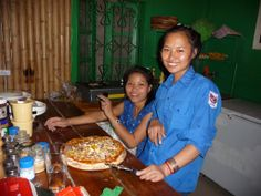 Pizza. Proper Pizza. Made in a wood fire oven. The best in Luang Namtha and Laos. Only at the Forest Retreat.