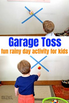 Rainy day activities for kids. Use this indoor play to strengthen physical development using gross motor skills. Your preschooler will use their large muscles as they get moving indoors. Physical Activities For Preschoolers, Rainy Day Activities For Kids, Motor Skills Activities, Movement Activities, Indoor Activities For Kids, Preschool Activities, Games For Kids, Toddler Preschool, Toddler Learning