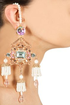 Cleopatra earrings available only at Pernia's Pop-Up Shop.