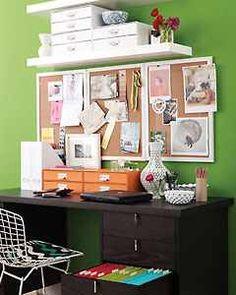 Desk reorganization inspiration