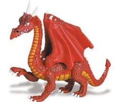 Red Dragon Figurine from Safari Limited #dragons $7.00