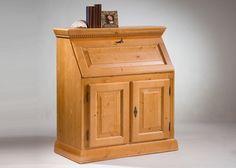 Sekretär Isabella Holz Massiv Antik Lackiert 1750. Buy now at https://www.moebel-wohnbar.de/sekretaer-isabella-holz-massiv-antik-lackiert-1750.html