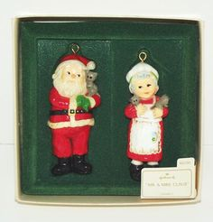 Vintage Collectible 1981 Hallmark Mr. & Mrs. Claus Keepsake Ornaments by Hallmark, http://www.amazon.com/dp/B0095XCXWG/ref=cm_sw_r_pi_dp_x0Jrqb0WPMRYV