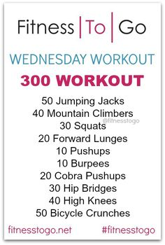 Wednesday Workout! Bootcamp Style HIIT Strength and Cardio workout
