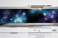 Panele szklane / glass panels interior design kuchnia / kitchen