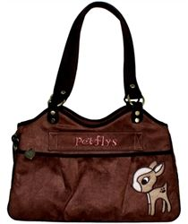 Bon Ami Baby Doe Carrier - Carriers - Leather Dog Carriers Posh Puppy Boutique