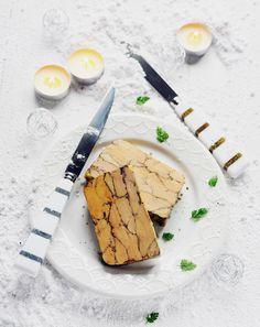 Foie gras marbré au cacao et aux épices