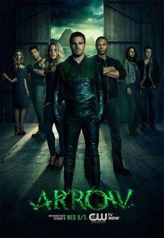 Divulgado o cartaz da 2ª Temporada de ARROW