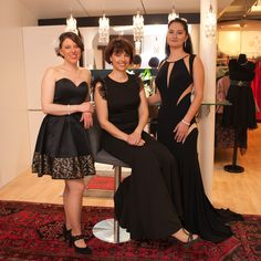 Ballmode im klassischen schwarz Bridesmaid Dresses, Wedding Dresses, High Low, Fashion, La Mode, Occasion Dresses, Black, Nice Asses, Bride Maid Dresses