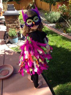 Home made bird costume!!