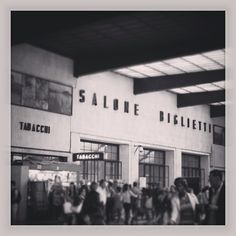 #train #station #stazione #florence #italy